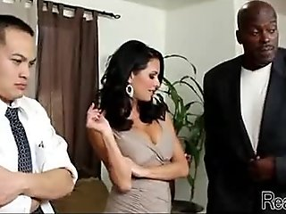Mom makes son watch her get fucked by big black cock 264
