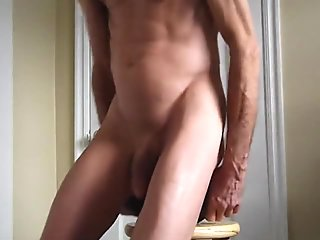 Double Ass Fuck and Giant Black Cock Dildos