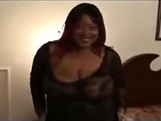 Black BBW London Bridges Threesome Slamming