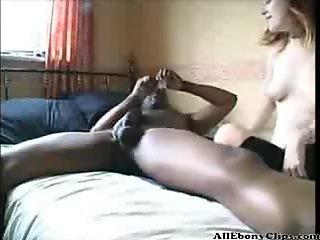 British Teen Tries Ebony Cock Part 1  black ebony cumshots ebony swallow interracial african ghetto bbc