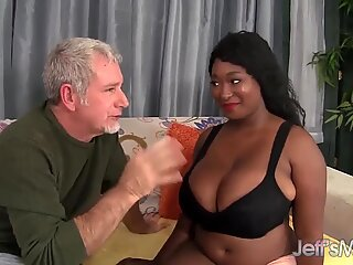Ebony wider Marie Leone choosing a extra fat prick - Marie Black