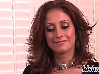Hardcore banging action for her snatch