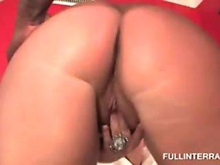 Curvy MILF eating up massive black pecker