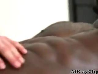 Huge black hard dick gets sucked