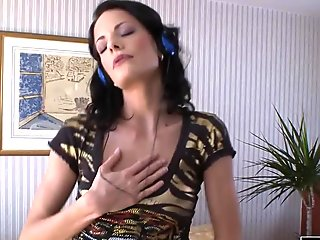MILF using her hands on a black cock