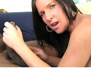 Mature MILF takes on big black cock 22