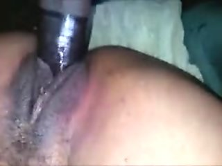Hot Amateur Sex with a Black Squirter