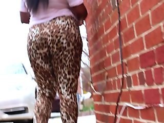 Her Ripped Nylons Made Him CUM 3 TIMES-Face, Mouth&Pussy (Public Indecency)