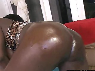 21 Hot black milf seduces young guy 15