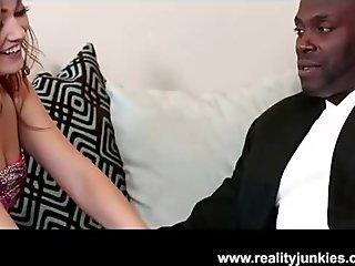 Teen Slut Ashlynn Leigh Loves Big Black Cock and Facial