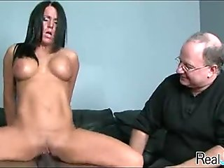 Watching mom fuck a black guy 338