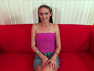 Hot Brunette Teen Slut Handling Big Black Cock POV