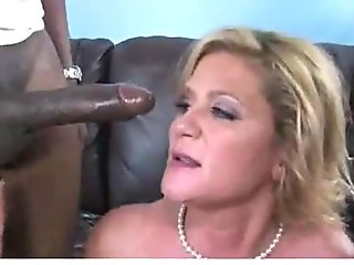 Hot mommy milf takes a big black cock 6