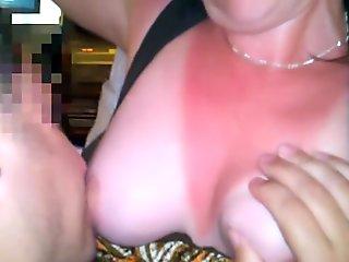 White slut wife plays with BBC