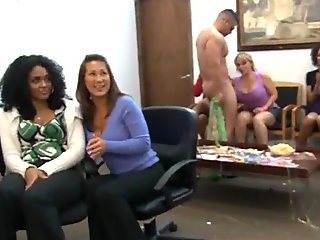 25  Cheating whores suck of stripper at cfnm party35